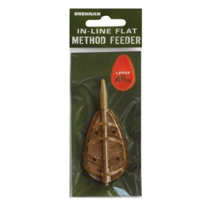 Drennan In-line Flat Method Feeder Large