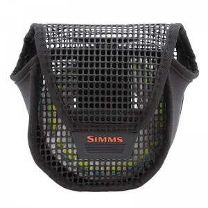 Simms Bounty Hunter Mesh Reel Pouch Black S