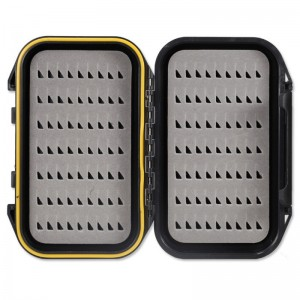Taimen ABS Waterproof Pocket Fly Box Black EG