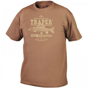 Traper T-shirt Oregon Brown
