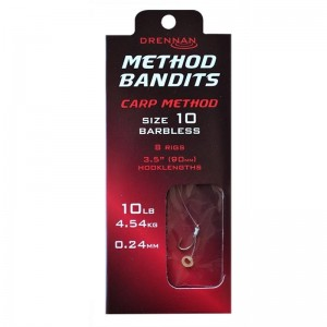 Drennan Method Bandits Carp Method Barbless 8szt.