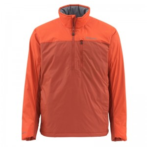 Simms Midstream Insulated Pull-Over Simms Orange