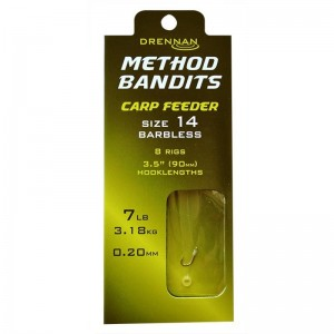 Drennan Method Bandits Carp Feeder Barbless 8szt.