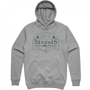 Simms Big Sky Hoodie Grey Heather
