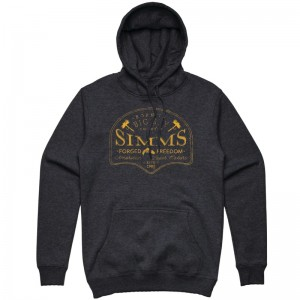 Simms Big Sky Hoodie Charcoal Heather