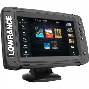 Lowrance Elite-7 Mid/High/TotalScan
