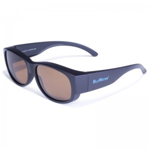 Blue Water Okulary Overboard Brown