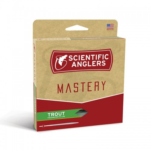 Scientific Anglers Mastery Trout Optic Green #2-14530